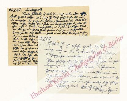 Edschmid, Kasimir, Schriftsteller (1890-1966).