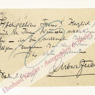 Fuchs, Albert, Komponist (1858-1910).