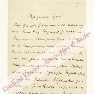 Lilienfein, Heinrich, Schriftsteller und Literaturhistoriker (1879-1952).
