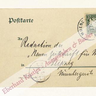 Reuß, August, Komponist und Musikwissenschaftler (1871-1935).