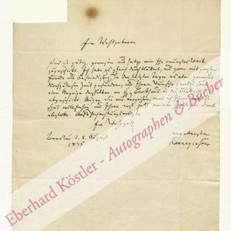 Kannegießer, Karl Friedrich Ludwig, Schriftsteller und Literaturwissenschaftler (1781-1861).
