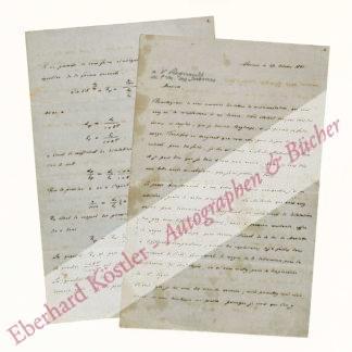 Blaserna, Pietro, Mathematiker und Physiker (1836-1918).