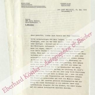 Volk, Klaus, Dirigent (Daten nicht ermittelt).