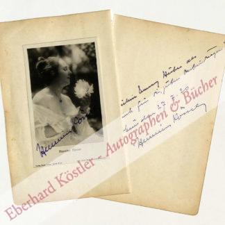 Körner, Hermine, Schauspielerin, Regisseurin und Theaterleiterin (1878-1960).