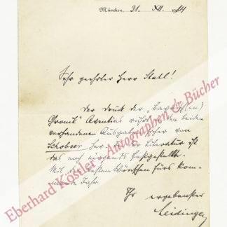 Leidinger, Georg, Bibliothekar (1870-1945).