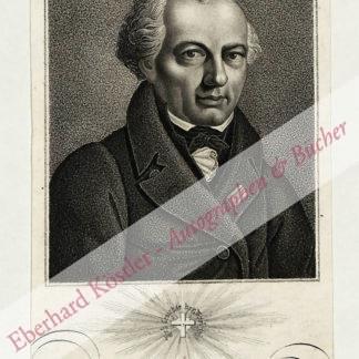 Wessenberg, Ignaz Heinrich von, Historiker und Sammler (1774-1860).