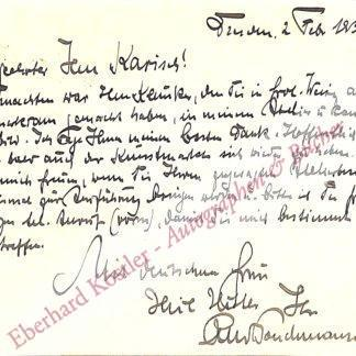 Poeschmann, Rudolf, Maler (1878-1954).