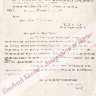 Deutsch, Otto Erich, Musikhistoriker und Bibliograph (1883-1967).