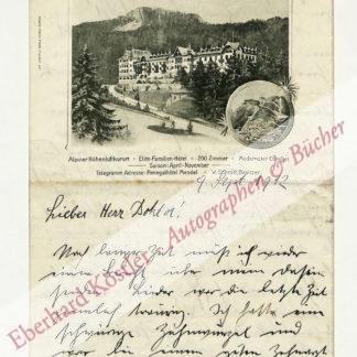 Steiner, Heinrich, Musikdirektor (1875-?).