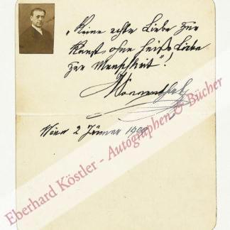 Sonnenthal, Adolf von, Schauspieler (1834-1909).