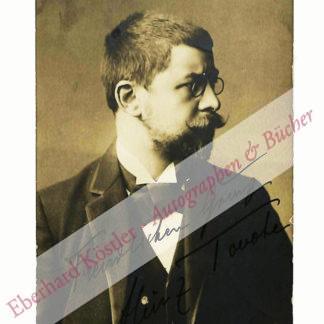 Tovote, Heinz, Schriftsteller (1884-1946).