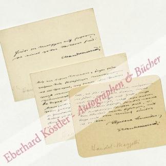 Handel-Mazzetti, Enrica von, Schriftstellerin (1871-1955).