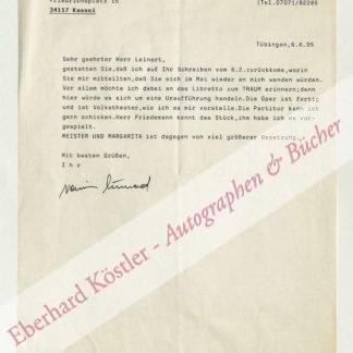 Kunad, Rainer, Komponist (1936-1995).