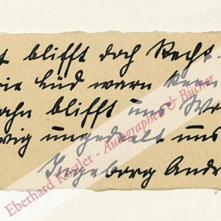 Andresen-Bödewadt, Ingeborg, Schriftstellerin (1878-1955).