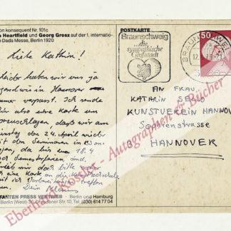 Staeck, Klaus, Grafiker und Präsident der Berliner Akademie der Künste (geb. 1938).