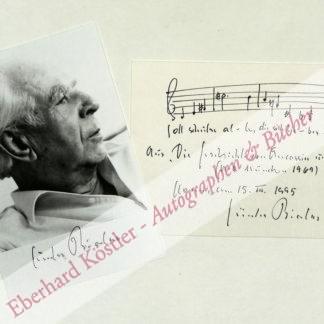 Bialas, Günter, Komponist (1907-1995).