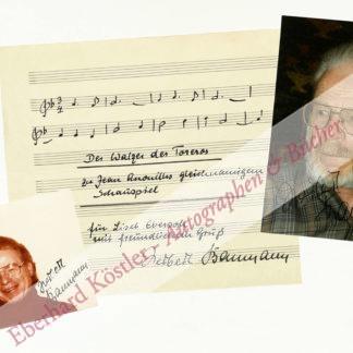Baumann, Herbert, Komponist und Dirigent (geb. 1925).