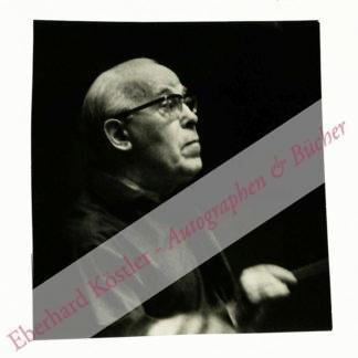 Bongartz, Heinz, Dirigent und Komponist (1894-1978).