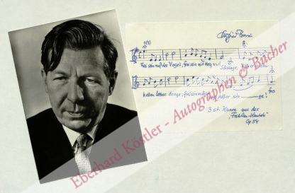 Borris, Siegfried, Komponist (1906-1987).