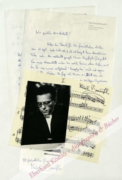 Braunfels, Michael, Komponist und Pianist (geb. 1917).