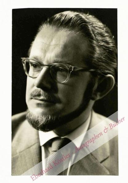 Driessler, Johannes, Komponist (1921-1998).