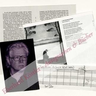 Höller, York, Komponist (geb. 1944).