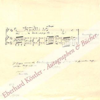Polko, Elise (geb. Vogel), Schriftstellerin und Sängerin (1823-1899).