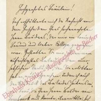Chiari, Hans von, Pathologe (1851-1916).