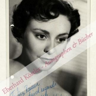 Virkner, Helle, Schauspielerin (1925-2009).
