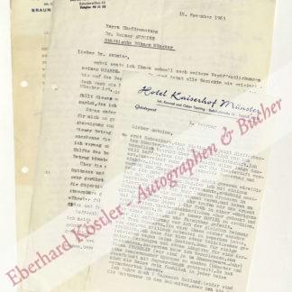 Wanderscheck, Hermann (Pseud. Hermann W. Anders), Schriftsteller und Dramaturg (1907-1971).