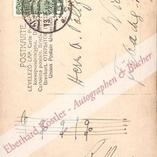 Heuberger, Richard, Komponist (1850-1914).