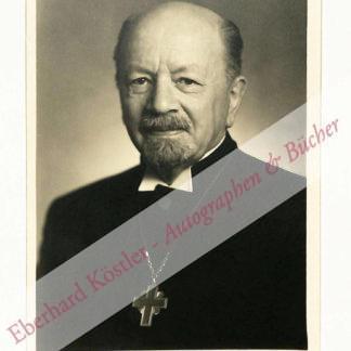 Dibelius, Otto, Theologe (1880-1967).