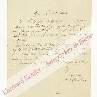 Marschner, Adolf Eduard, Komponist (1819-1853).