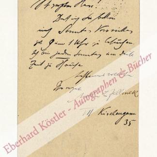 Jellinek, Arthur L.,, Philologe und Journalist (1876-1907).