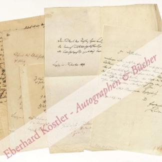 Bülau, Friedrich von, Staatswissenschaftler und Journalist (1805-1859).