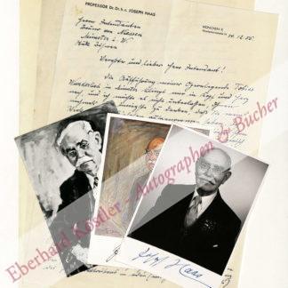 Haas, Joseph, Komponist (1879-1960).