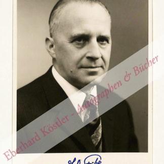 Fischer, Ernst Otto, Chemiker und Nobelpreisträger (1918-2007).