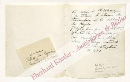 Abderhalden, Emil, Mediziner (1877-1950).