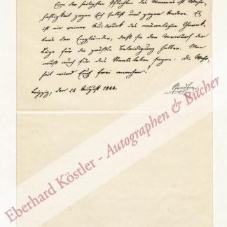 Pfordten, Ludwig von der, Jurist und Staatsmann (1811-1880).