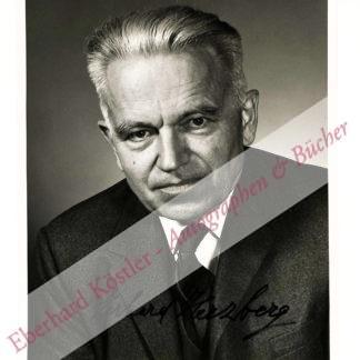 Herzberg, Gerhard, Chemiker und Nobelpreisträger (1904-1999).