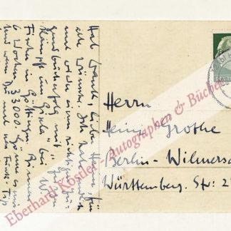 Steguweit, Heinz, Schriftsteller (1897-1964).