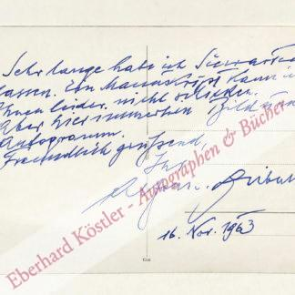 Czibulka, Alfons von, Schriftsteller (1888-1969).