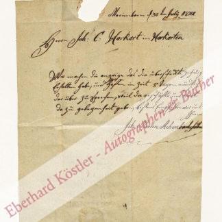 Achenbach, Johann Martin, Gewerke (Daten nicht ermittelt).