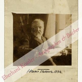 Thoma, Hans, Maler (1839-1924).