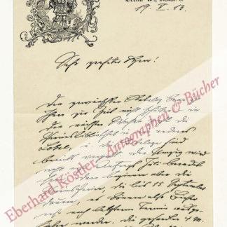 Hildebrandt, Adolf, Heraldiker und Graphiker (1844-1918).