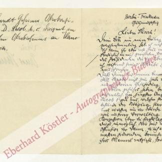 Hundt, Ernst, Oberkirchenrat (1877-1945).