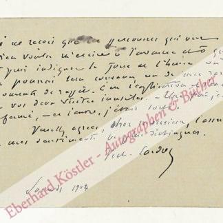 Sardou, Victorien, Schriftsteller (1831-1908).