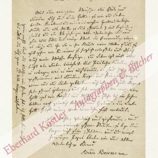 "Beermann, Eduard, Schriftsteller, ""fahrender Dichter"" (1786-nach 1873)."