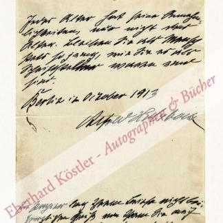 Holzbock, Alfred, Schriftsteller (1857-1927).