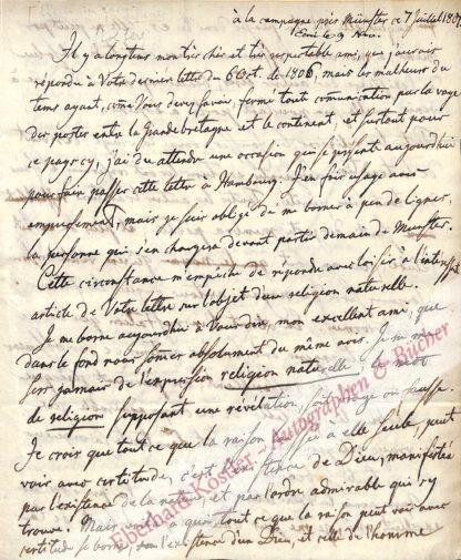 Stolberg-Stolberg, Friedrich Leopold Graf zu, Schriftsteller (1750-1819).